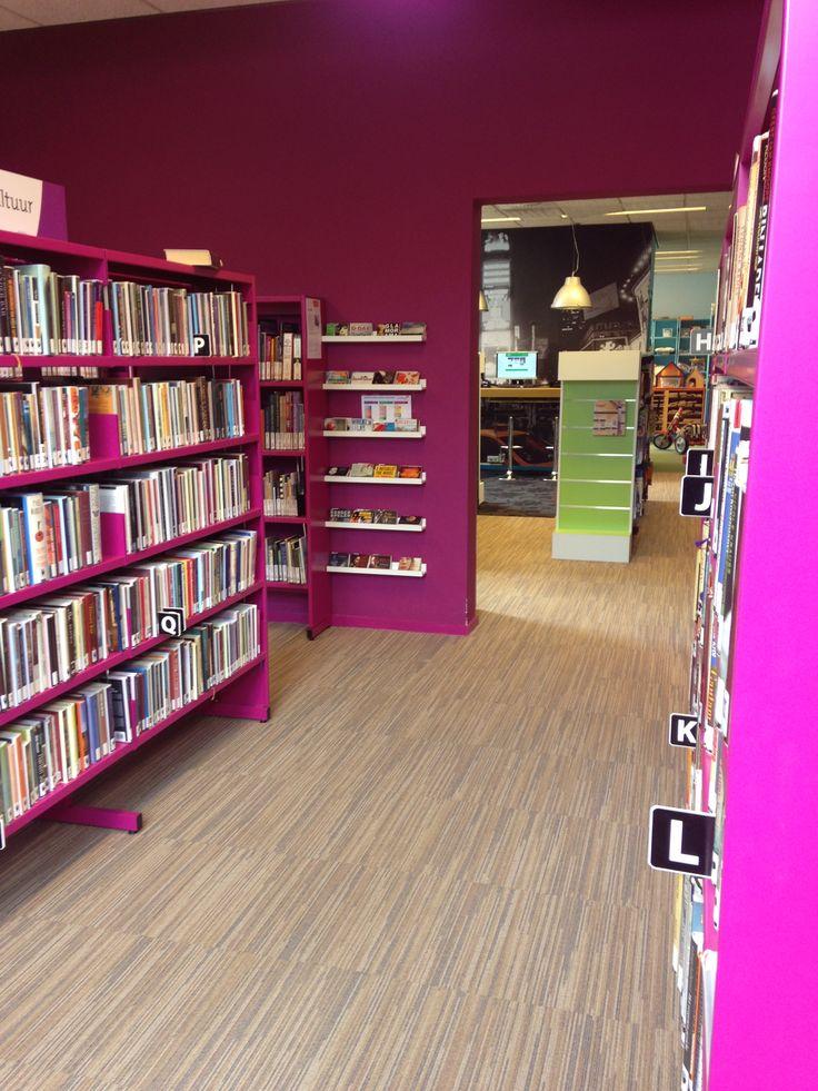 BiblioPlus Boxmeer. Werk is uitgevoerd door Bos Schilderwerken. www.bosboxmeer.nl