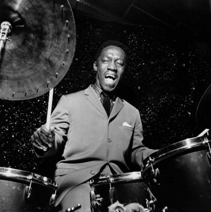The great Grammy award winning jazz drummer Art Blakey was born today 10-11 in 1919. He worked with bebop legends, Monk, Charlie Parker and Dizzy Gillespie. He passed in 1990 at age 71.