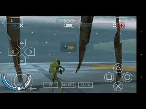 Battlefront para android PSP emulador excelente. - YouTube