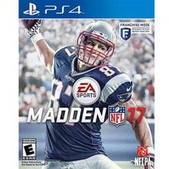 PS4:Madden NFL 17 PS4 Electronic Arts