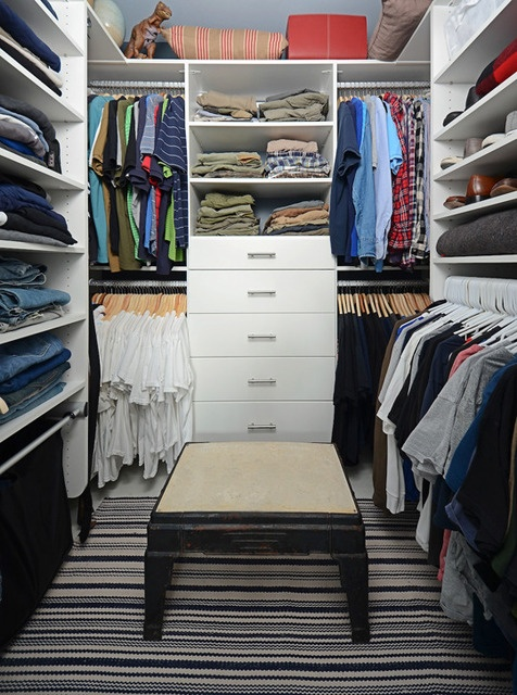 i know women crave large walk-in closets but I bet many men do as well....