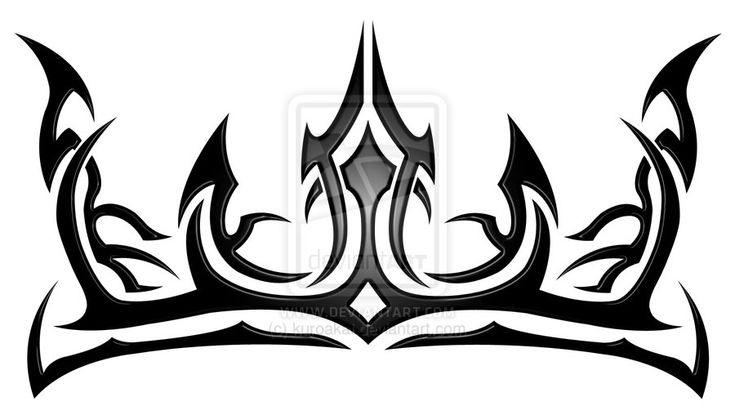 Queen Crown Tattoos Tribal Image Gallery king cro...