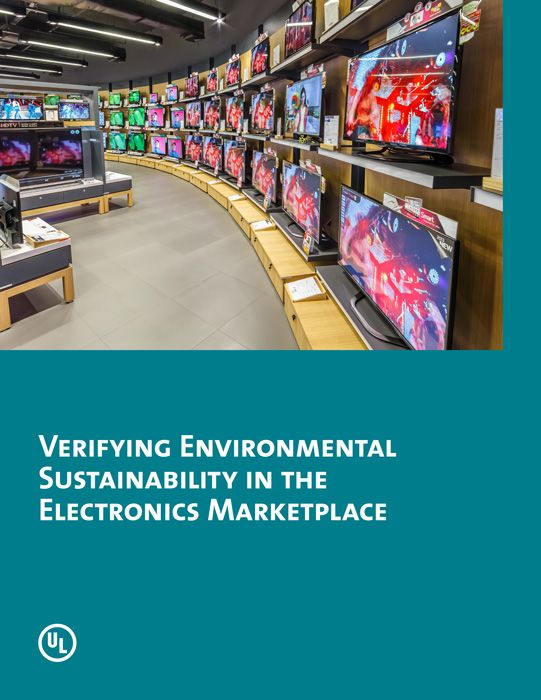 This UL white paper provides details on the sustainability verification options available to electronics manufacturers. Beginning with an overview of the market for sustainable electronic products, the paper then identifies the spectrum of product sustainability concerns.