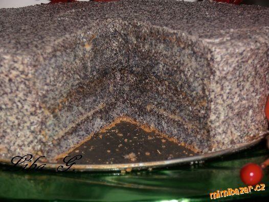 Makový dort bez mouky pro milovníky máku s fotopostupem