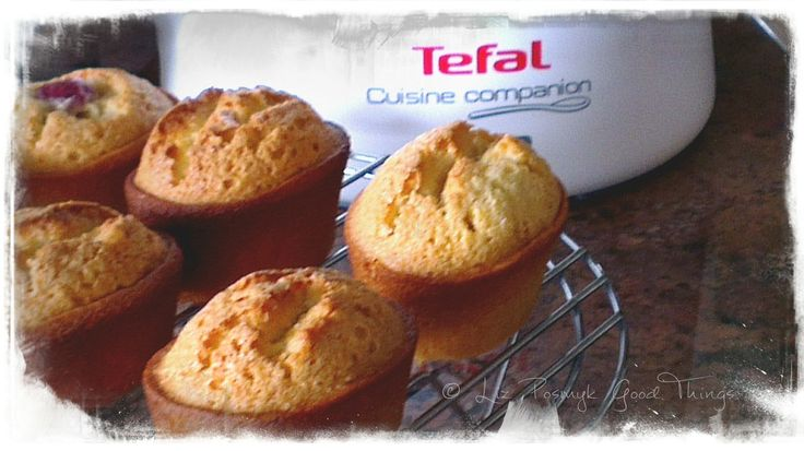 Friands made in the Tefal Cuisine Companion by Liz Posmyk Good Things