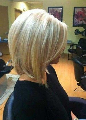 Kısa Düz Sarı Saç Modelleri