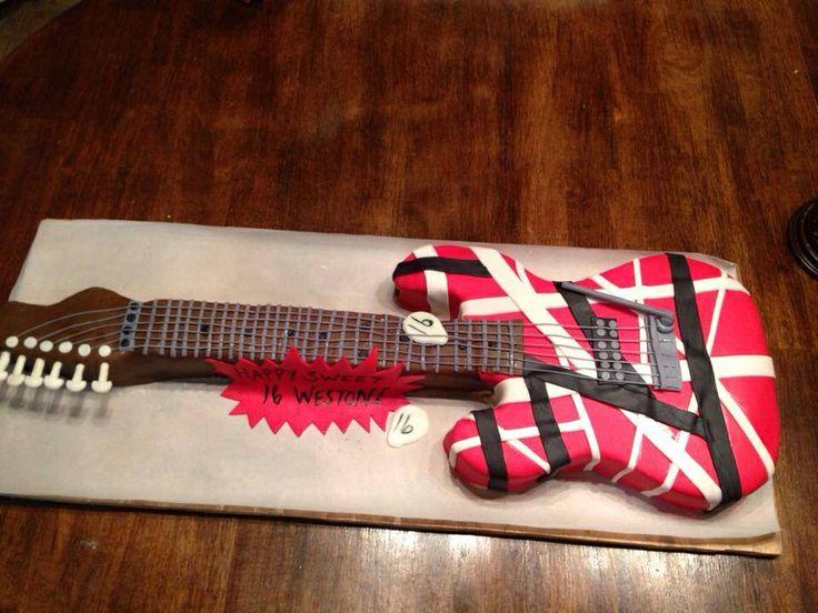Guitar Cake Topper Sydney