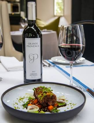 Have you tried our wine of the month - Grande Provence Cabernet Sauvignon yet? It's perfect with a hearty slow cooked lamb. The sous-vide lamb next on Executive Chef Darren Badenhorst's new winter menu is a slam dunk with this smooth-as-velvet 100% Franschhoek Cabernet Sauvignon.