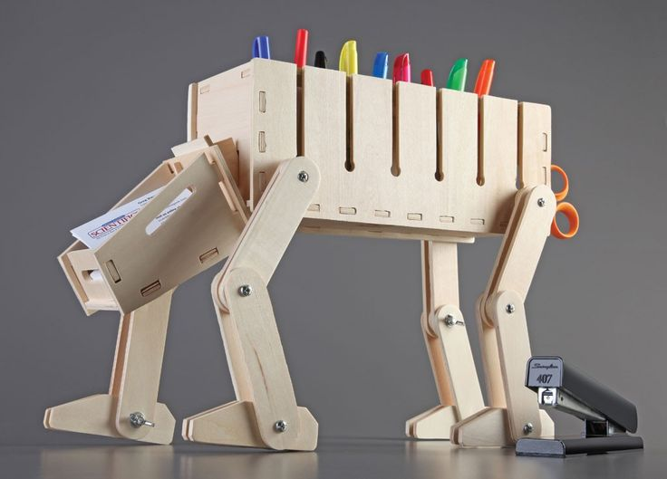 DIY Wooden Desk Organizer - Star Wars AT-AT theme   X ...