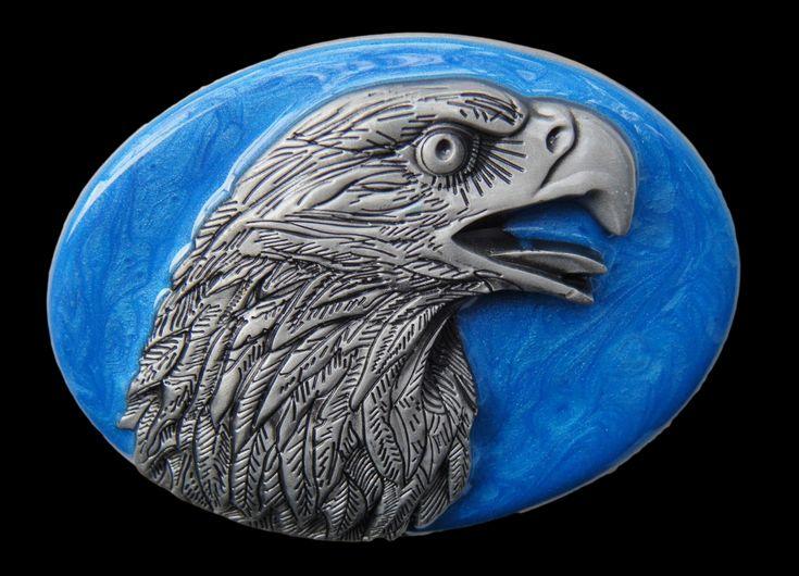Eagle Head Belt Buckle American Wild Bald Eagles Unique Boucle de Ceinture #eagle #eagles #eaglebuckle #eaglebeltbuckle #flyingeagle #baldeagle #americaneagle #beltbuckles #coolbuckles #buckle