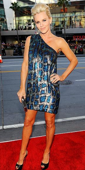 stella mc cartney dress. Love, love, love Jenny McCarthy!