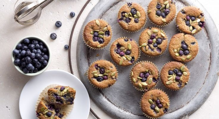 Best-Ever Gluten-Free Blueberry Muffins