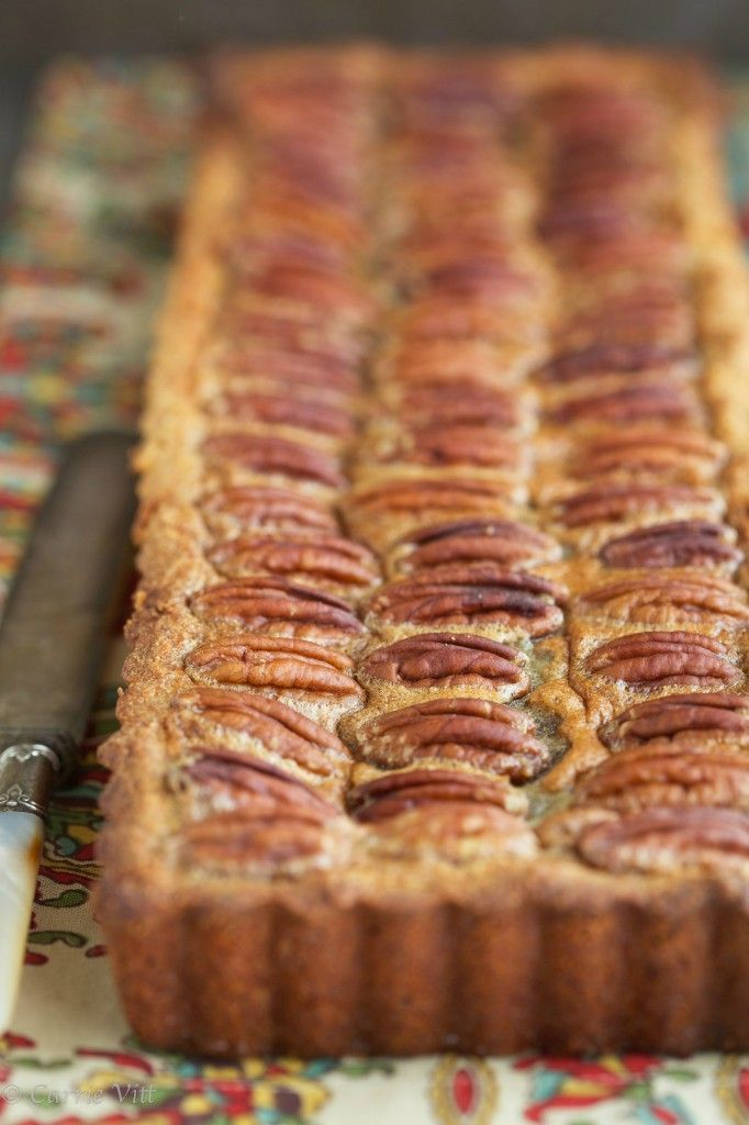 Pecan Pie without Corn Syrup via DeliciouslyOrganic.net (Grain-Free)
