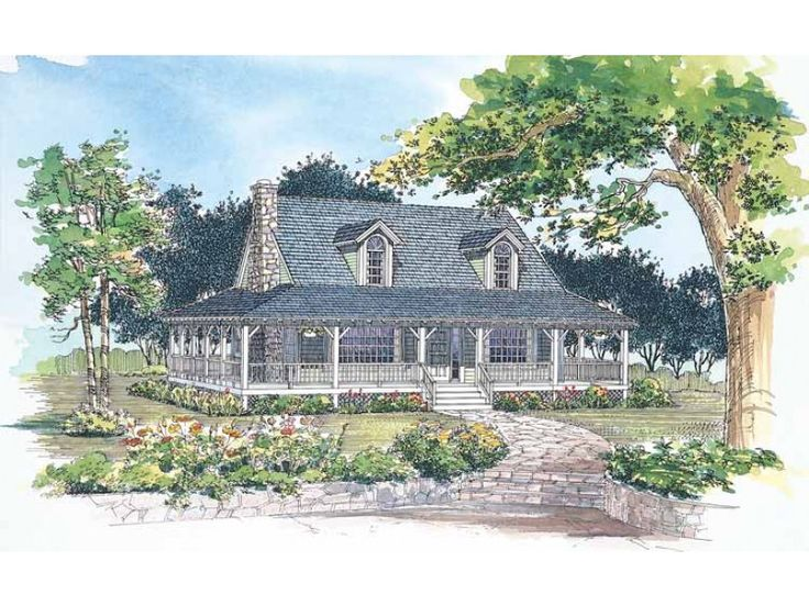 eplans farmhouse house plan rustic retreat 1696 square feet and 3 bedrooms from eplans house plan code