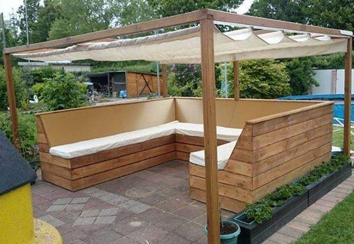 Eine super lounge idee von spax so k nnt ihr den sommer im garten genie en garten - Gartenlounge selber bauen ...