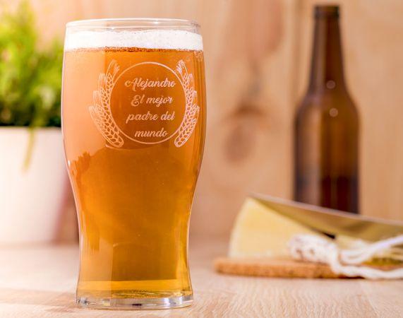 Pinta de cerveza personalizada