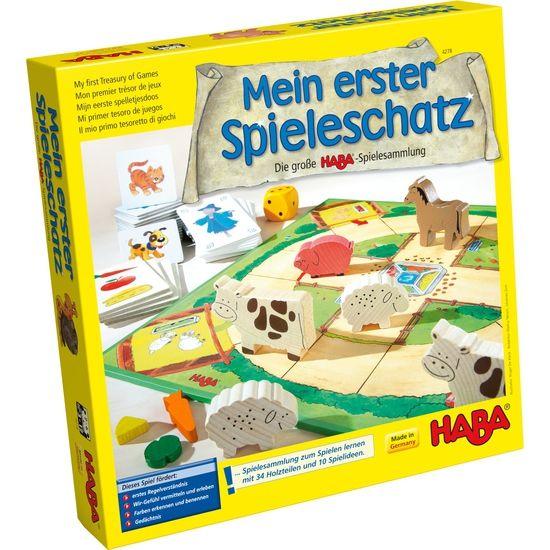 HABA Mein Erster Spielschatz Die Große HABA-Spielesammlung Spiele Klassiker
