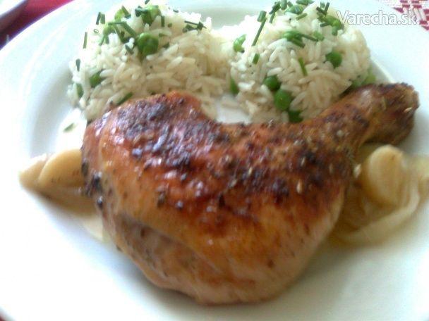 Pečené kura po provensálsky