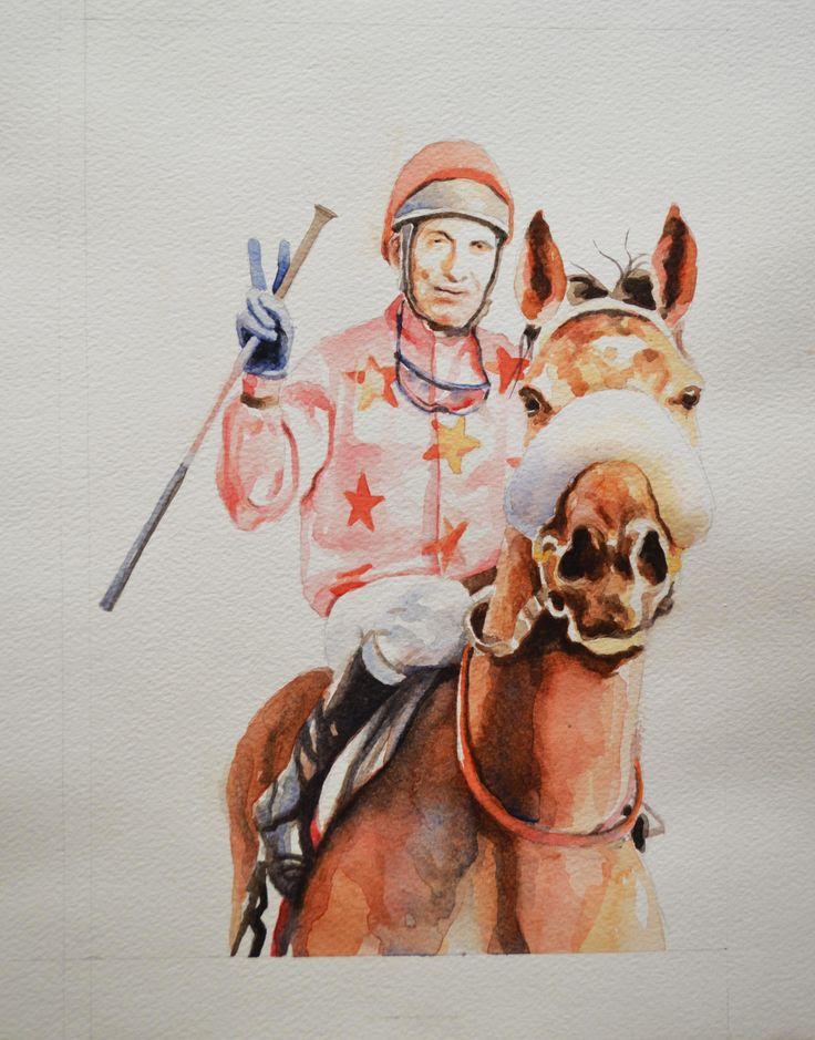 Watercolour - 30 x 20 cm