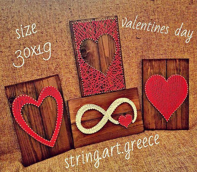 Μοναδικα δωρα σε οικονομικες τιμες! Διαθεση χονδρικη και λιανικη. #stringart #wood #handmade #handcraft #art #artist #instaart #instalove #love #valentinesday #etsy