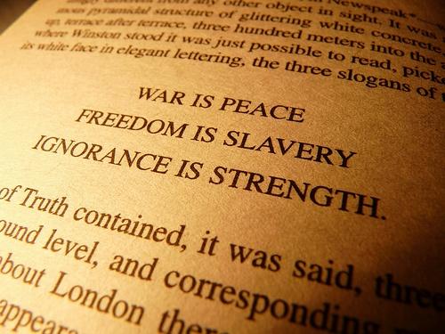 Risultati immagini per 1984 freedom is slavery