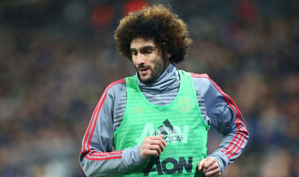 MANCHESTER UNITED FC NEWS: Manchester United midfielder Marouane Fellaini off...