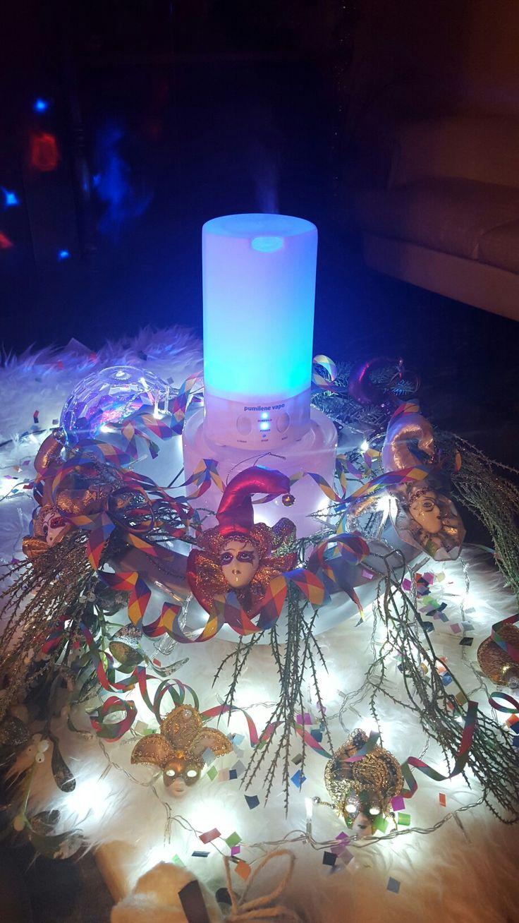 #allestimento#carnevale#maschere#deumidificatore#led#stellefilanti