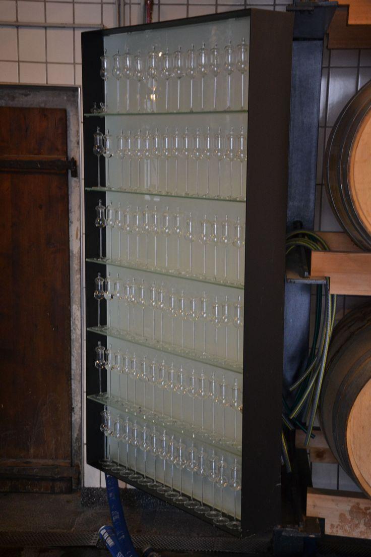 98 testglas i destilleriet