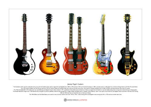 Jimmy Page's Guitars