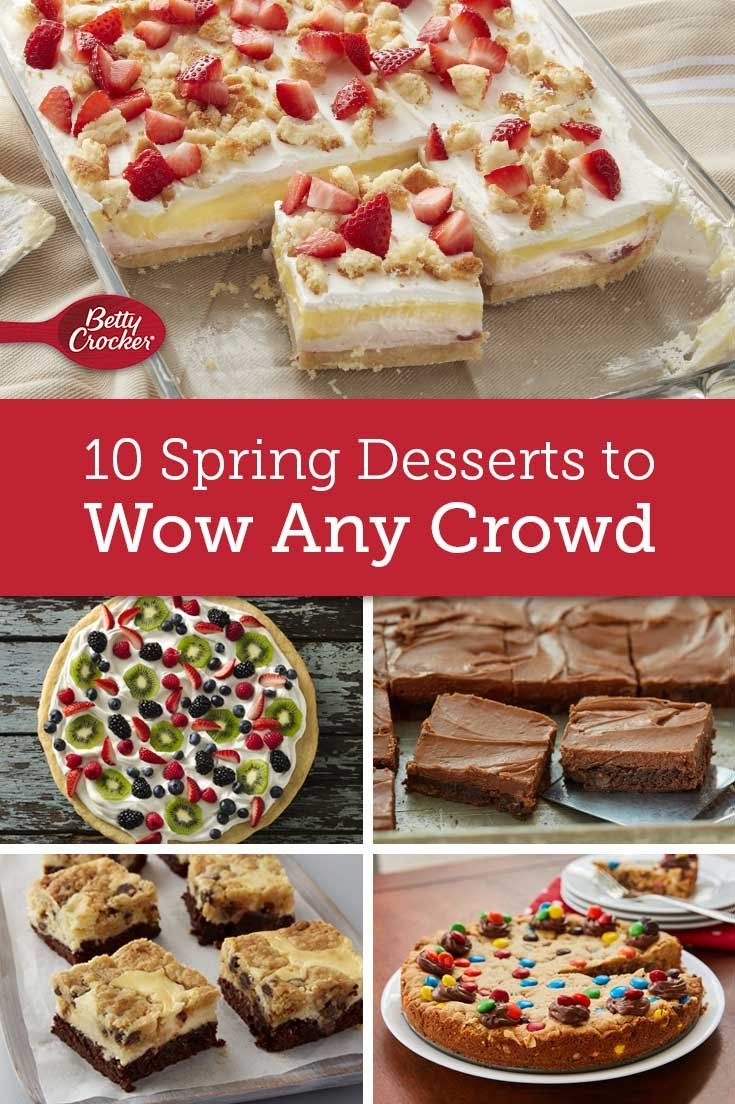 18 Spring Desserts to Wow Any Crowd