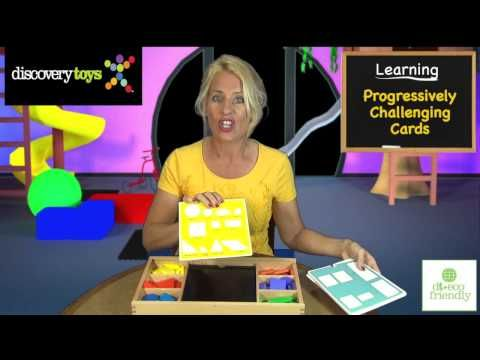 ▶ Discovery Toys -- Playful Patterns Heirloom Edition - YouTube