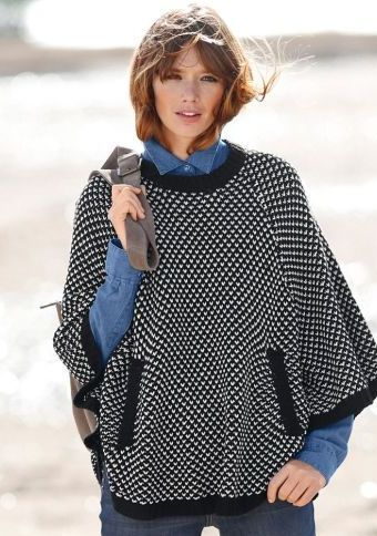Pončo pulovr #ModinoCZ #ponco #autumn #fall #fashion #moda #comfortable #trend #styl