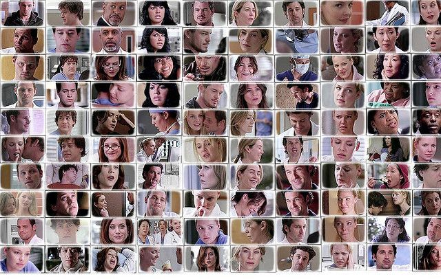 Grey's Anatomy Relationships | Grey's Anatomy Cast Expressions | Flickr - Photo Sharing!