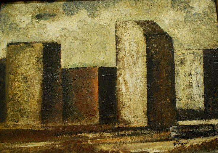 Mario Sironi - Paesaggio urbano, 1928