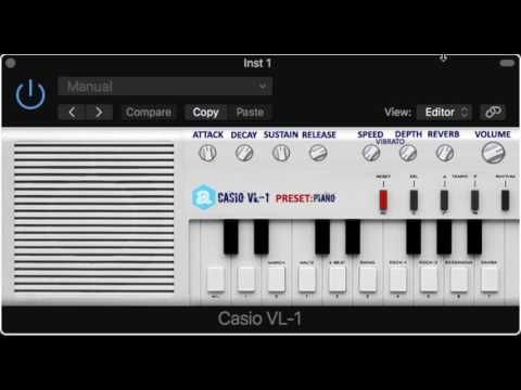 Free Casio VL-1 Virtual Instrument