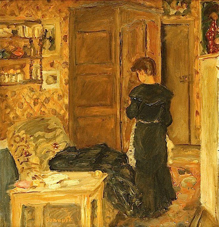 Pierre bonnard woman in an interior femme a l interieur for Pierre bonnard la fenetre ouverte