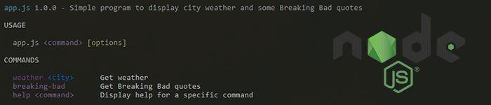 Créer une application de ligne de commande (cli) avec Caporal.js et NodeJS - ShevArezoBlog