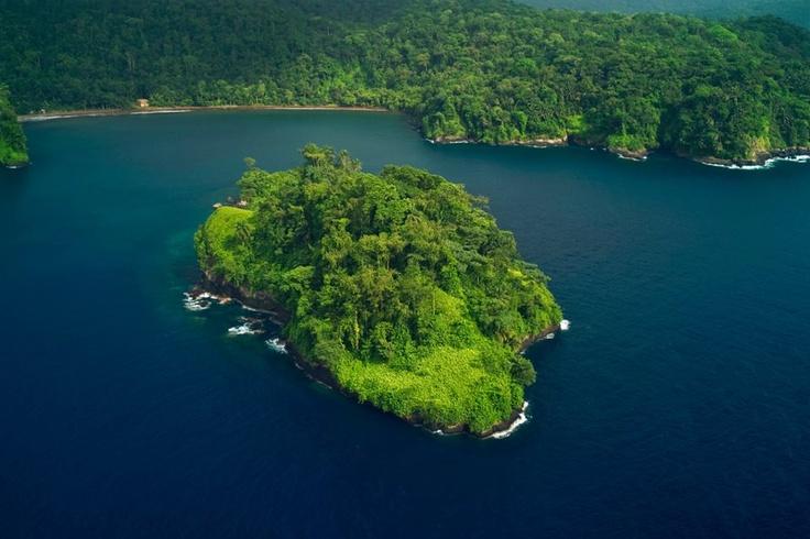 St. Miguel island in Sao Tome & Principe