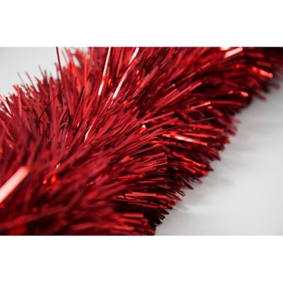 FINE CUT TINSEL RED