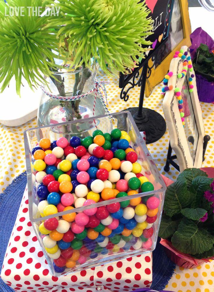 95 best polka dot party ideas images on pinterest for Polka dot party ideas