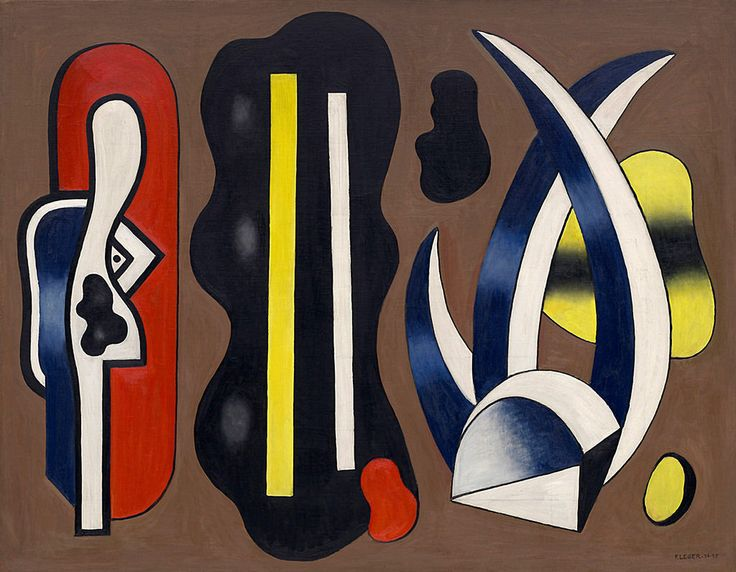 Fernand Leger Composition with Aloes, No. 4 | 1934-1935. Oil on canvas. 113,3 x 146 cm. Solomon R. Guggenheim Museum, New York.