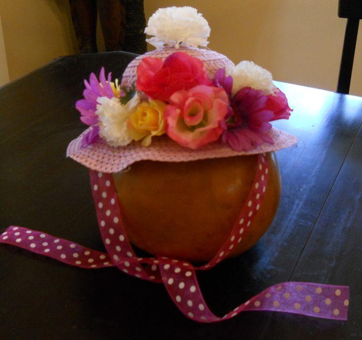 Kinder-Gardening: Spring Bonnets