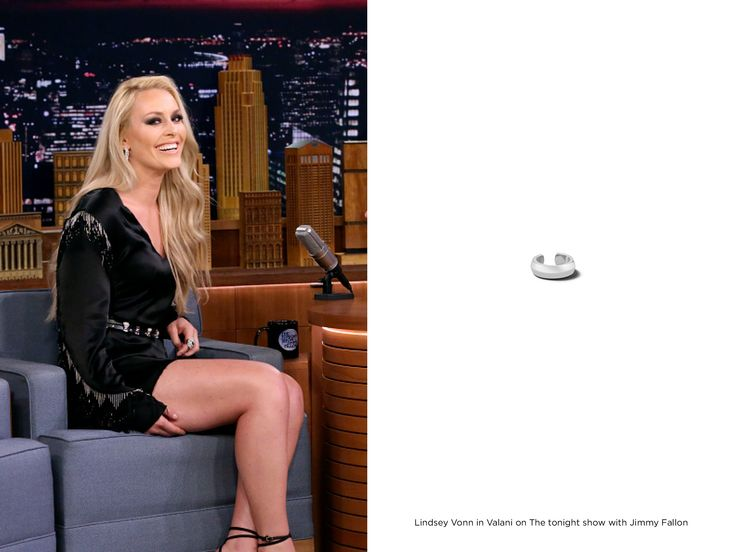 Lindsey Vonn in Valani on Jimmy Fallon