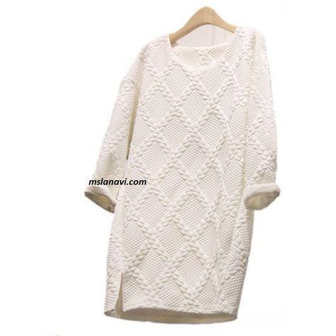 Белое платье с аранами http://mslanavi.com/2015/11/beloe-plate-s-aranami/