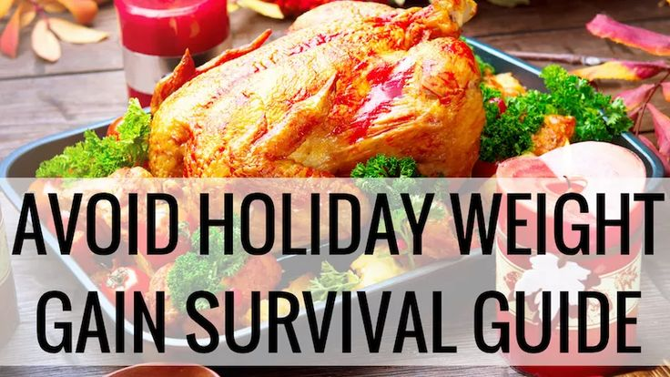 Avoid Thanksgiving weight gain with these tips - I promise, they work, if you work them!