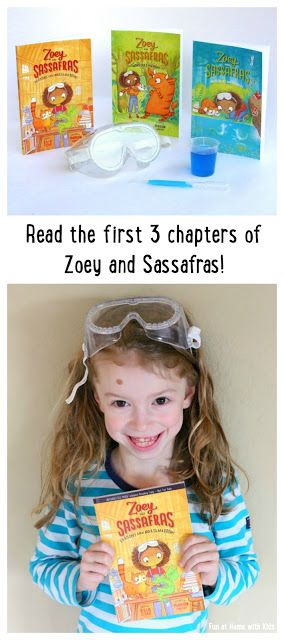 Read the first three chapters of Zoey and Sassafras right now! from Fun at Home with Kids