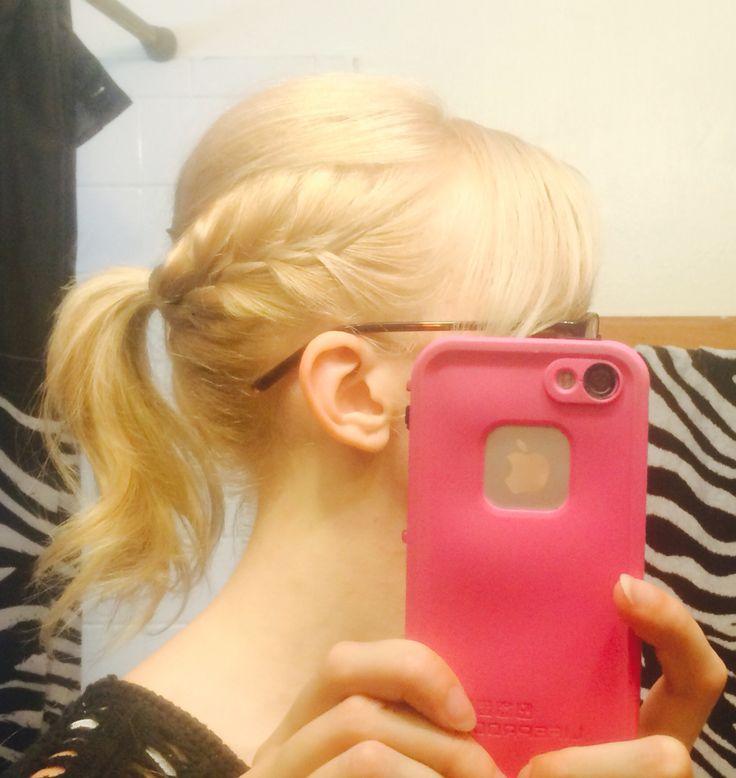 Braid ponytail Mohawk