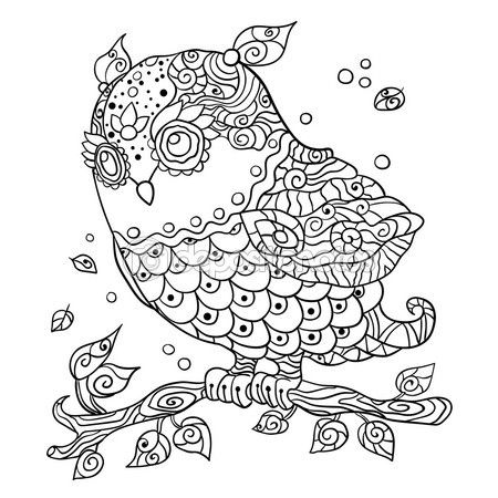 73 best dibujos images on Pinterest | Adult coloring, Coloring books ...