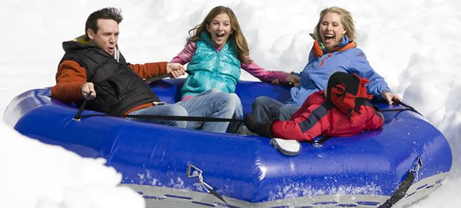 Grab your friends and brave the tubing hill together. Multiply your thrills on Atlanta's only snow-covered 400-foot tubing hill in a first-of-its kind family tube ride.