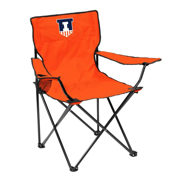 Illinois Fighting Illini Quad Chair - Logo Chair